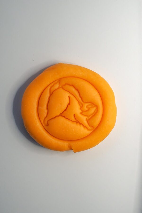 Oranža veidošanas mīkla 120g